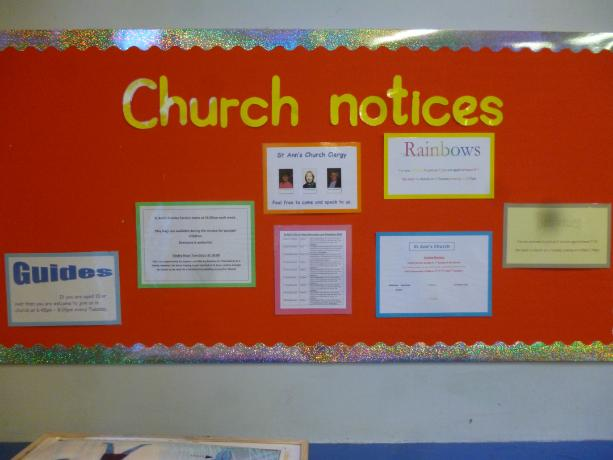 school church link board